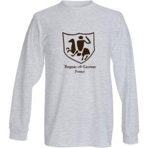 Long Sleeve Gray T-Shirt $19